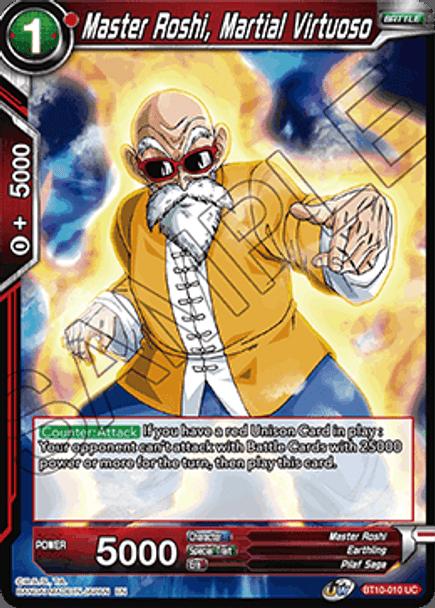 BT10-010 Master Roshi, Martial Virtuoso