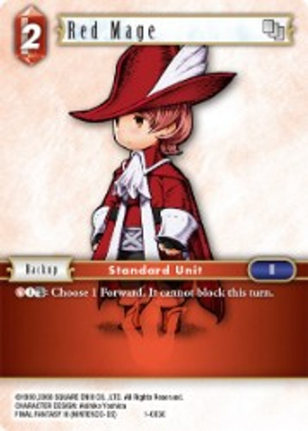 1-003C Red Mage (1-003)