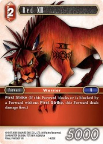 1-029C Red XIII (1-029)
