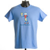 "T-shirt  ""Good Vibrations"" - Ringo (blue & sand)"