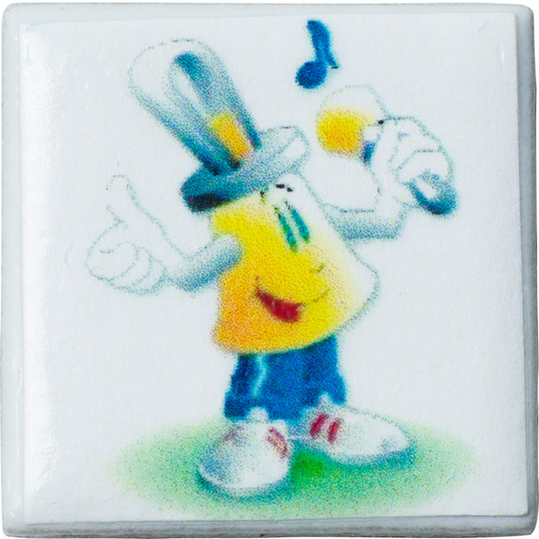 "Tiny Tile Magnet - ""Bellman"""