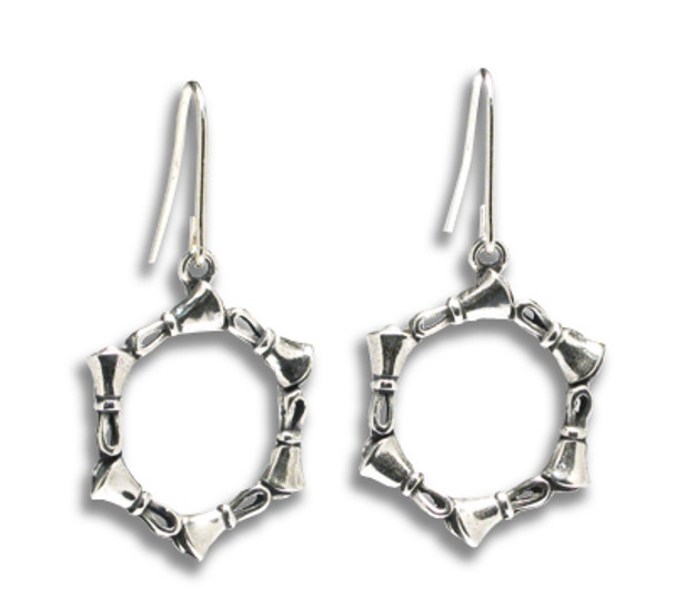 "Handbell Earrings - ""Circle of Bells"" SS"