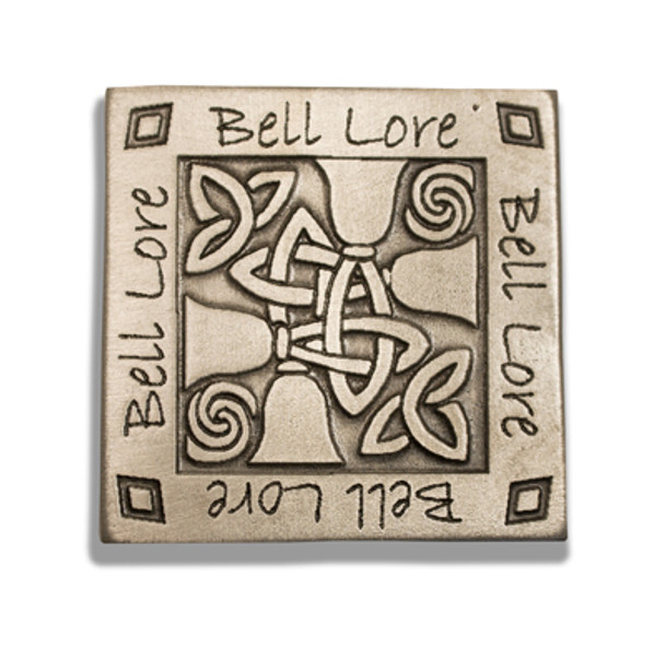"Pewter Magnet - ""Bell Lore"""