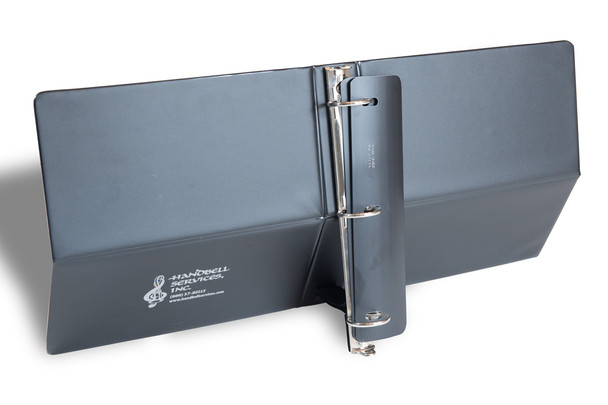 """Notebook Music Stand - 1"""" w/ adjustable strap"""