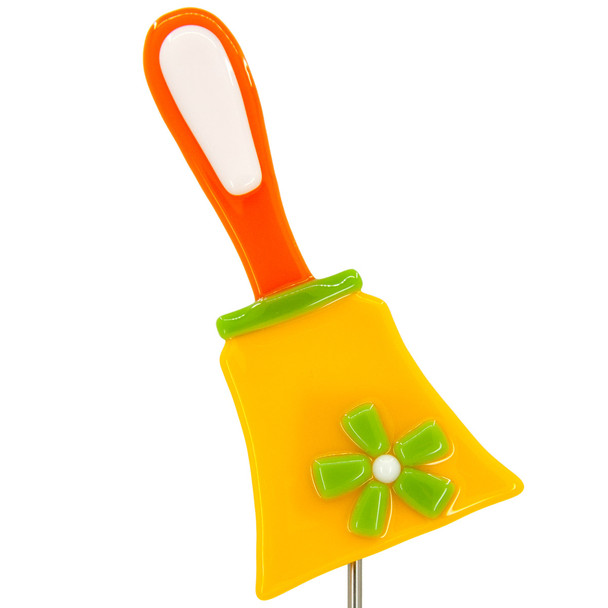 Bell Plant Stake - Yellow