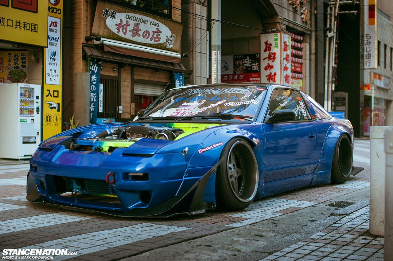 Rocket Bunny S13 180sx Full Aero Kit