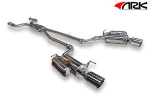 Infiniti G37 Q40 Sedan ARK Performance GRIP Exhaust Polished Tip