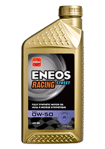 ENEOS Racing Street 0W50 and 0W20