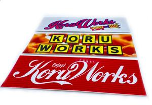 KoruWorks Slap Sticker Pack