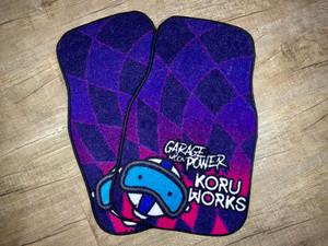 KoruWorks X GMP Floor Mats - Boy Racer