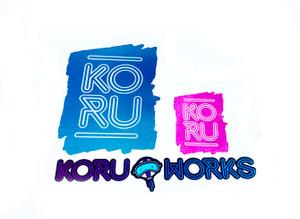KoruWorks Small Dude Sticker Pack
