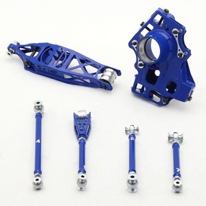 Wisefab BMW E90 E92 E81 E82 Rear Suspension Drop Knuckle Kit