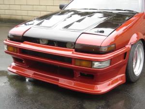 PS Duce Late Trueno Type II Front Bumper (AE86)