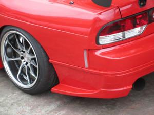 Car Modify Wonder S13 / 180SX SD Rear Fenders - 50mm