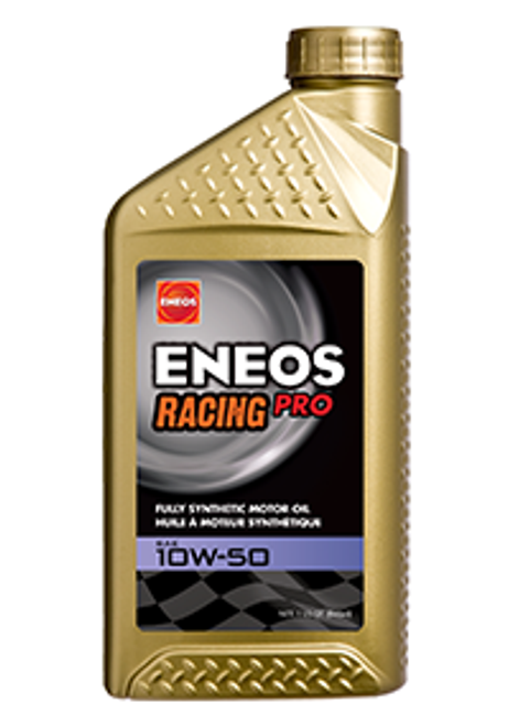 ENEOS Racing Pro 10W50 and 0W20