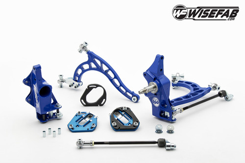 Wisefab Nissan S13 Front V2 Drift Angle Lock Kit with Rack Offset Spacers *FREE SHIPPING*