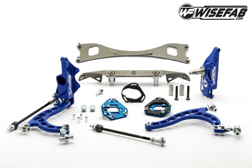 Wisefab NISSAN S-CHASSIS LOCK KIT WITH RACK RELOCATION KIT FOR S13 HUBS *Free Shipping*