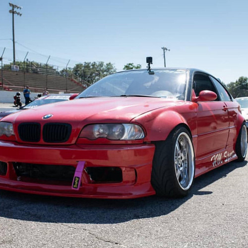 Big Duck Club E46 Coupe Front Overfenders (+60mm)
