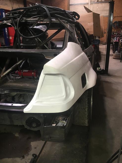 Big Duck Club E46 Sedan Rear Quarter Panel Replacement