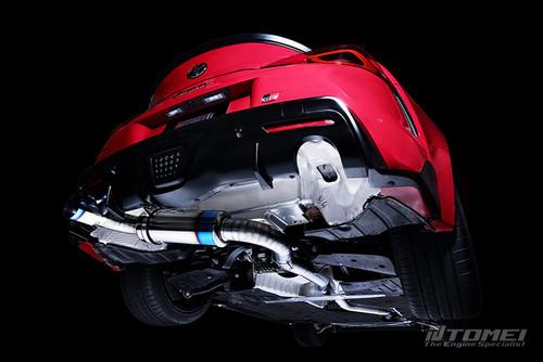 TOMEI GR SUPRA FULL TITANIUM MUFFLER - Type R
