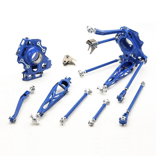 Wise Fab Toyota Supra A90 Rear Wide Suspension Drop Knuckle Kit *FREE SHIPPING*