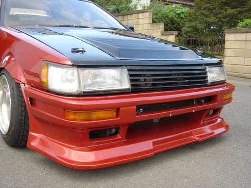 PS Duce Late Levin Front Bumper Type II (AE86)