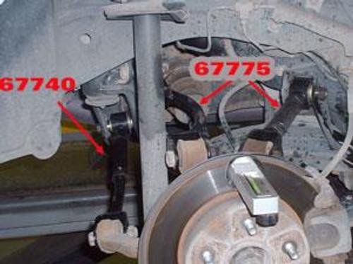 SPC Performance 95-98 Nissan 240SX Rear Driver Side Adjustable Control Arm