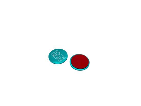 Center Button applied after installation