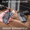 Glock 26/27/28/33 - Profile IWB Holster - Left Hand