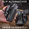 Glock 26/27/28/33 - OATH IWB Holster - Ambidextrous