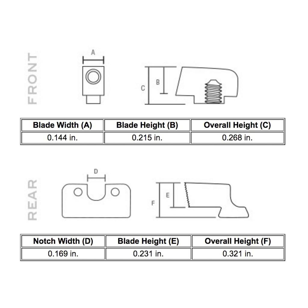 Trijicon HD Night Sights - Glock