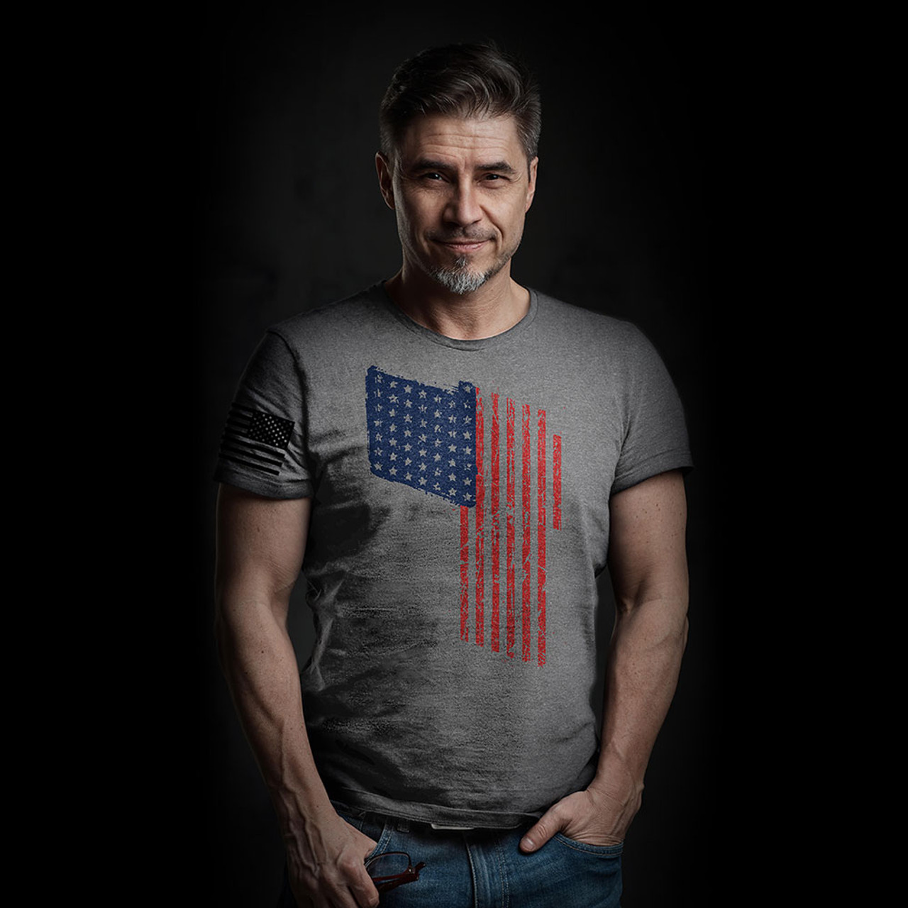'Merica T Flag Men/Unisex Shirt