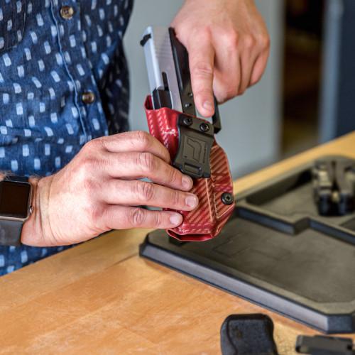 "M&P Shield/Plus 3.1"" 9/40 Streamlight TLR-6 - Profile IWB Holster - Left Hand"
