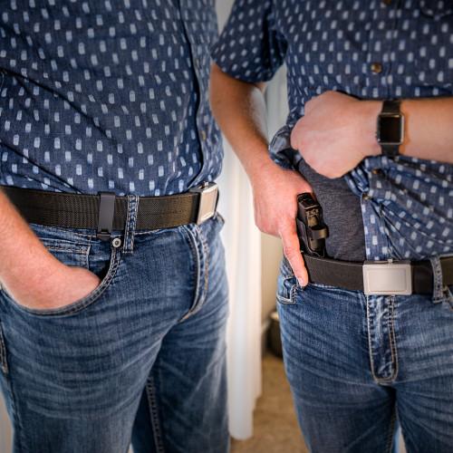 Glock 19/MOS/19X/23/25/32/44/45 - OATH IWB Holster - Ambidextrous