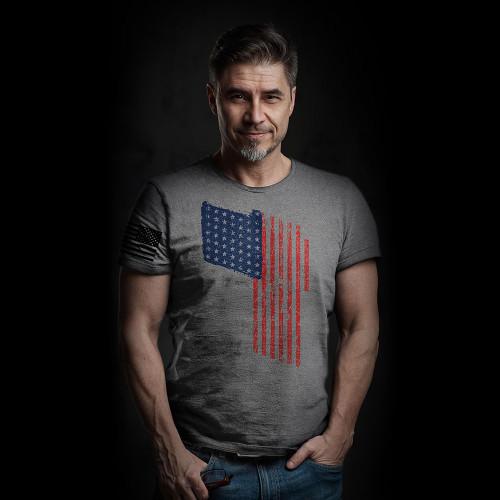 'Merica T Flag Men/Unisex Shirt
