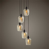 Aarush 5 Lt. Cluster Pendant - by Uttermost