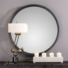 Cecilia Round Mirror - by Uttermost