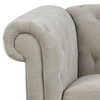 Charlton Tufted 3 Seat Sofa - Natural by Maison Living