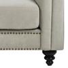 Charlton Tufted 3 Seat Sofa - Natural