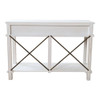 Aix 2 Drawer Console Table - White