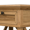 Hamptons Shutter Bedside Table Natural
