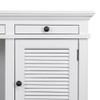 Hamptons Shutter Desk White