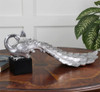 Silver Peacock Figurine - by Uttermost