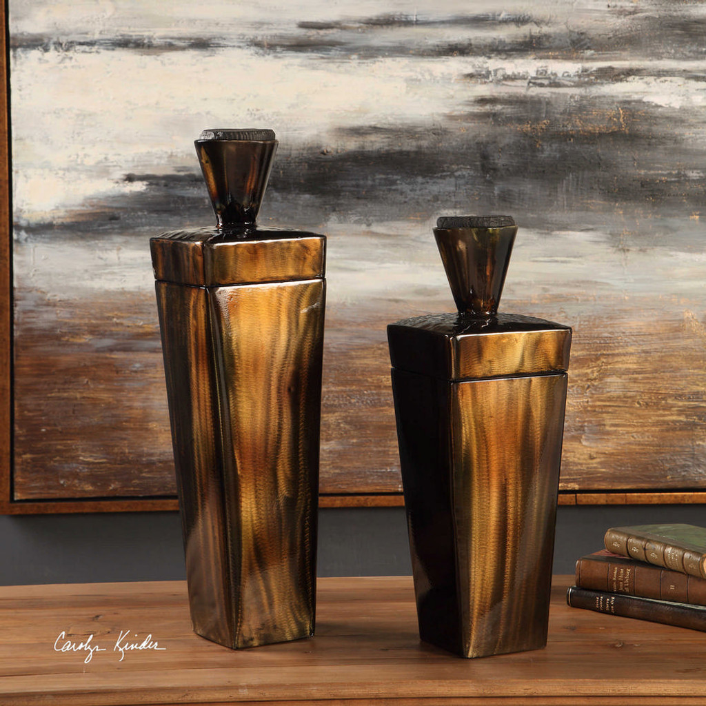 Lisa Containers S/2 by Uttermost