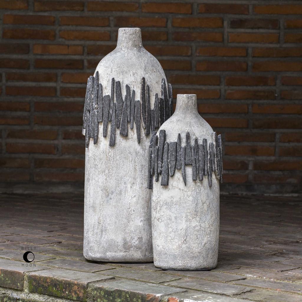 Rutva Vases S/2 by Uttermost