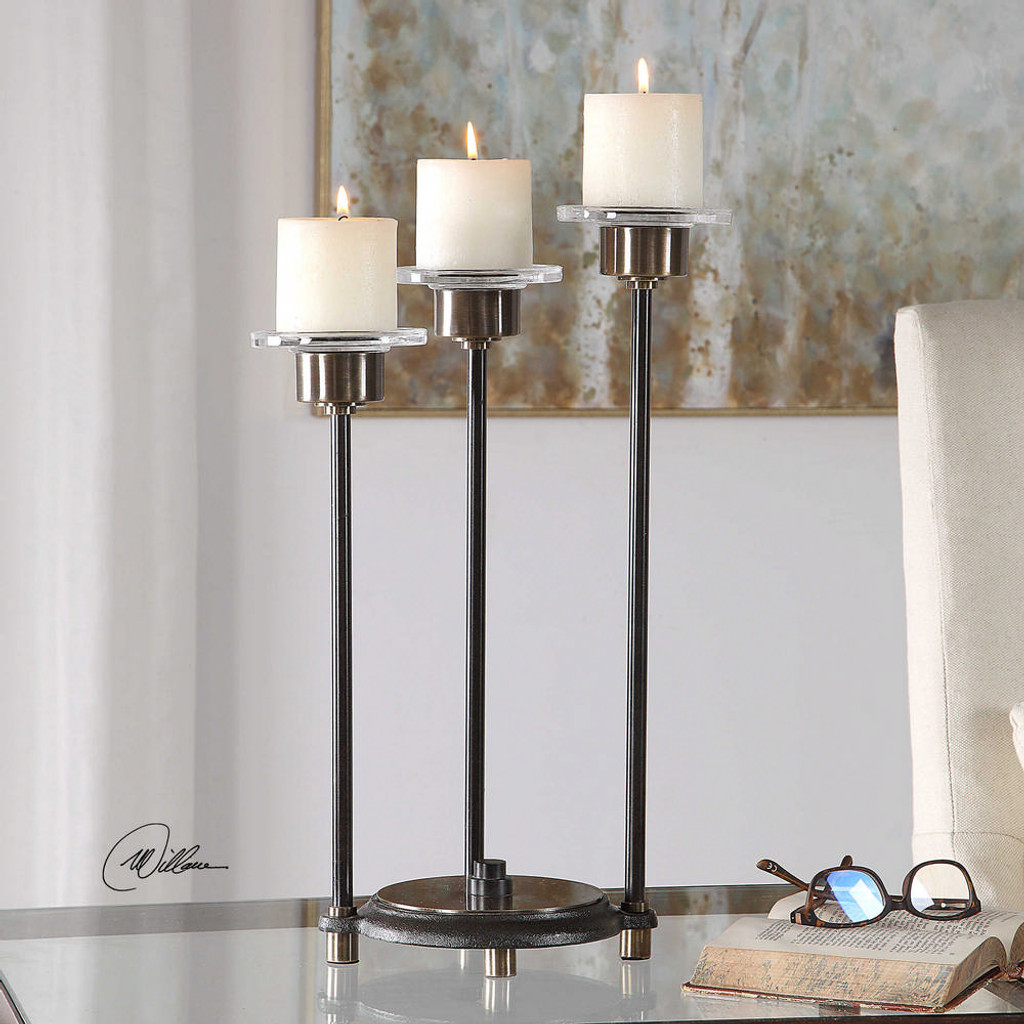 Amal Candleholder by Uttermost