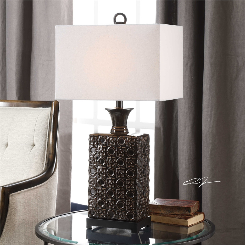 Bertoia Table Lamp - by Uttermost