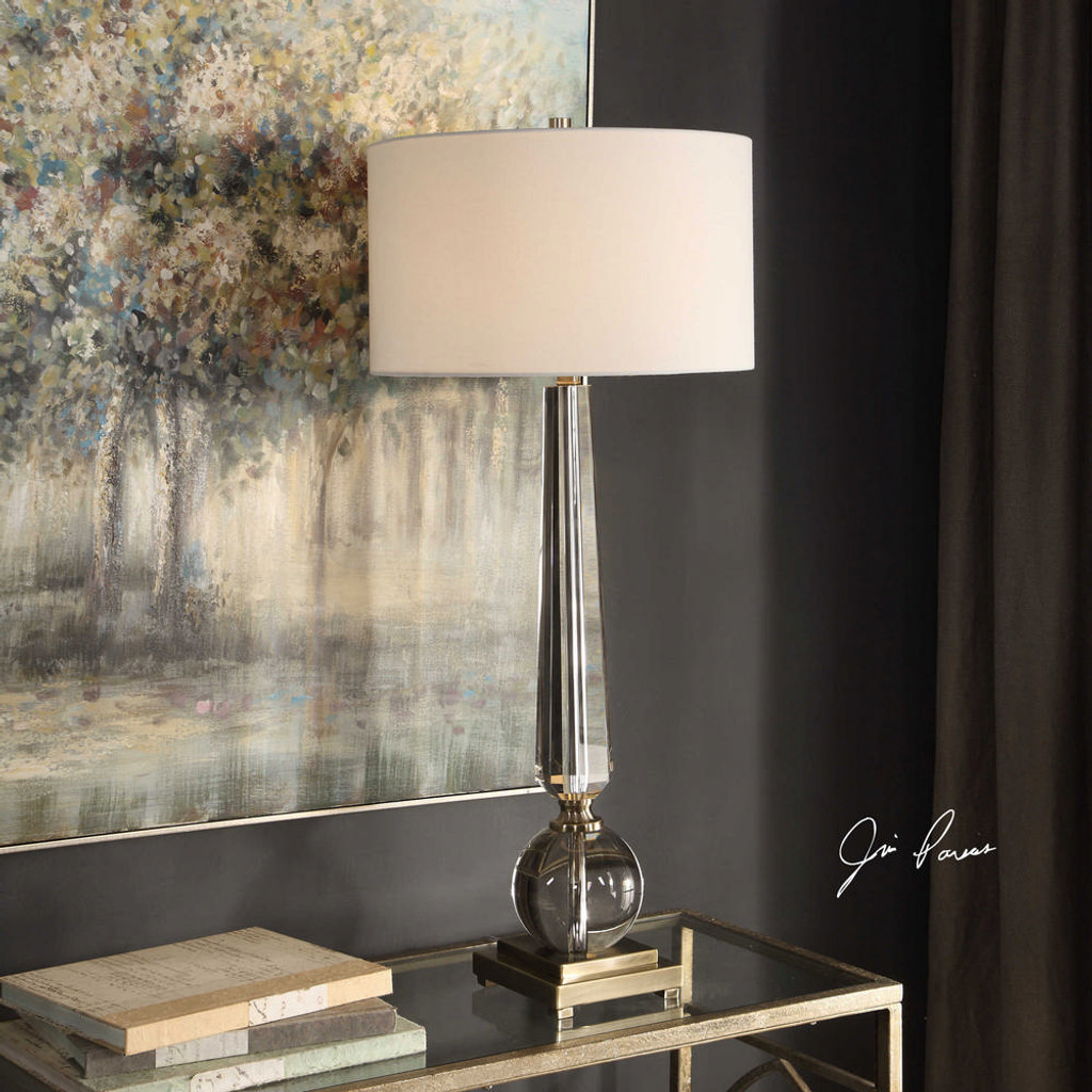 Crista Table Lamp by Uttermost