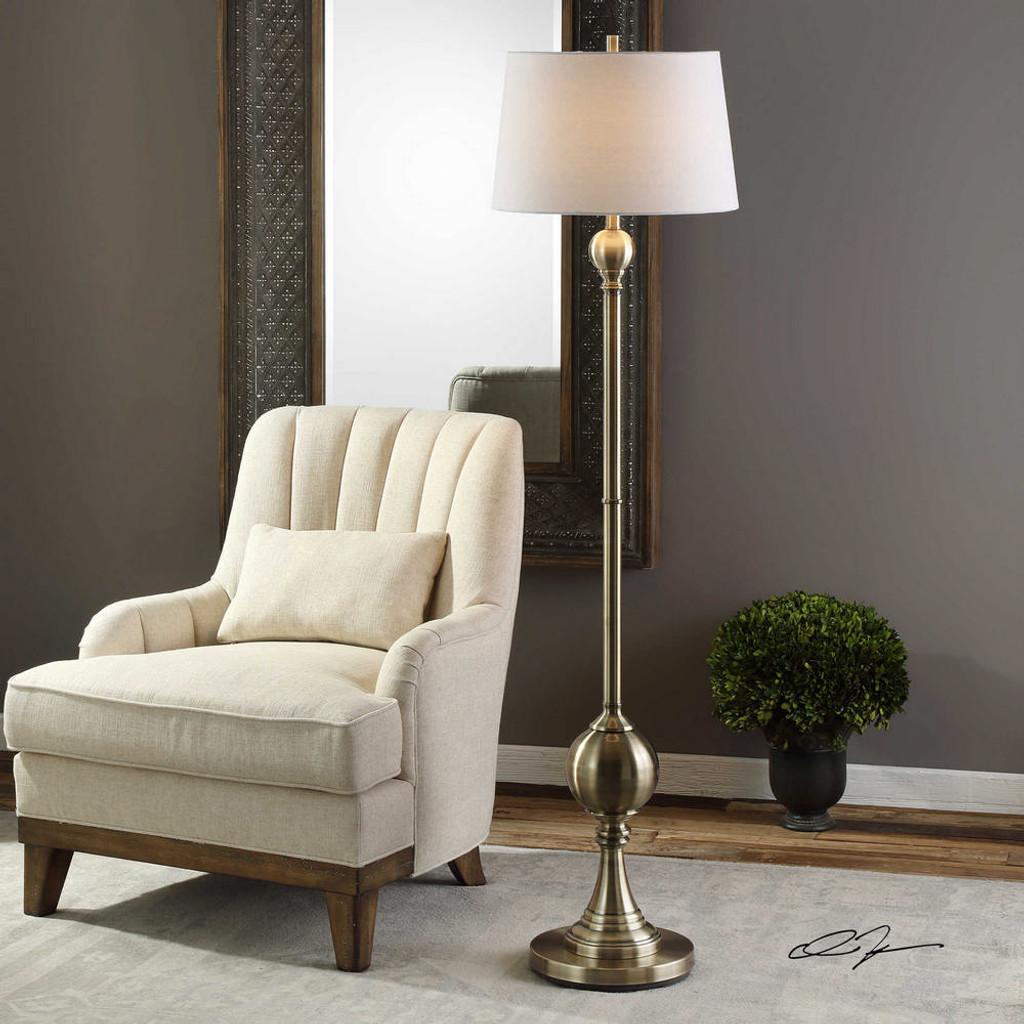 Abriola Floor Lamp by Uttermost