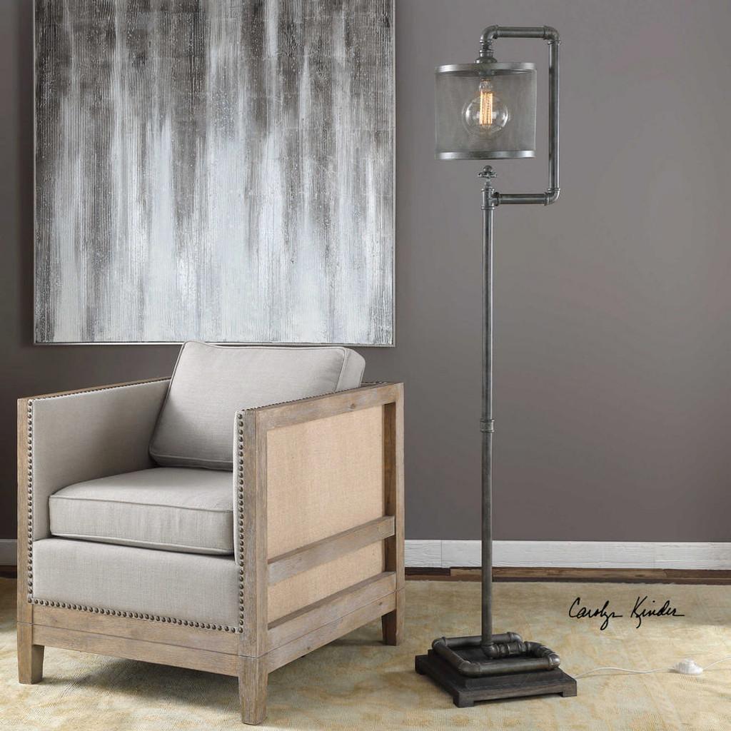 Bristow Floor Lamp by Uttermost
